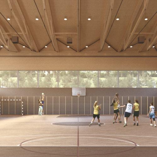 Basketball Hall<br>Budapest